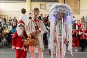 Die 3 Gewinner des Kostümwettbewerbs