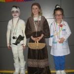Die 3 Gewinner der Kostümprämierung